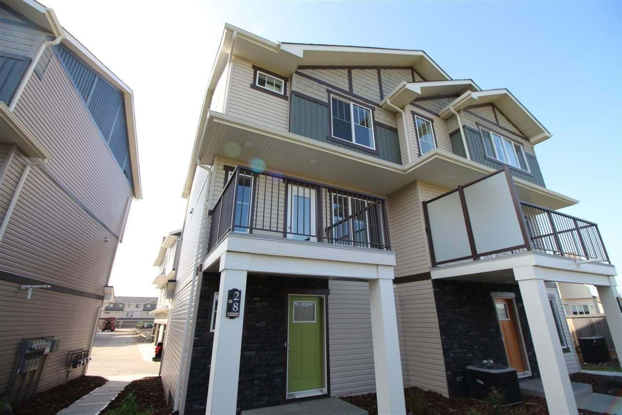 Townhouse for sale at 165 Cy Becker Rd NW Unit 28 Edmonton Alberta - MLS: E4214705