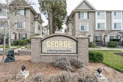 Townhouse for sale at 1708 King George Blvd Unit 28 Surrey British Columbia - MLS: R2445473