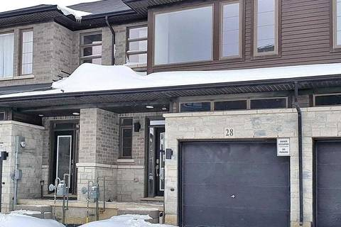 Townhouse for sale at 30 Times Square Blvd Unit 28 Hamilton Ontario - MLS: X4694691