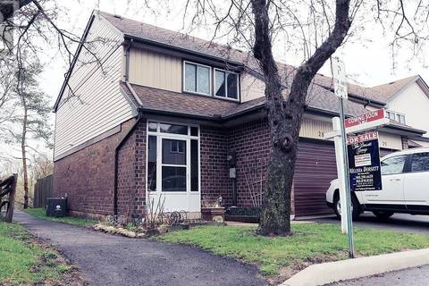 Townhouse for sale at 318 Laurier Ave Unit 28 Milton Ontario - MLS: 30732168