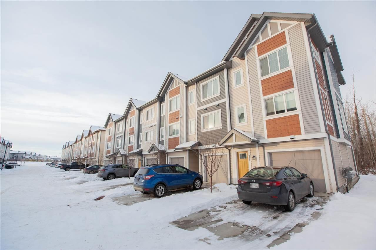 Townhouse for sale at 320 Secord Bv NW Unit 28 Edmonton Alberta - MLS: E4221161