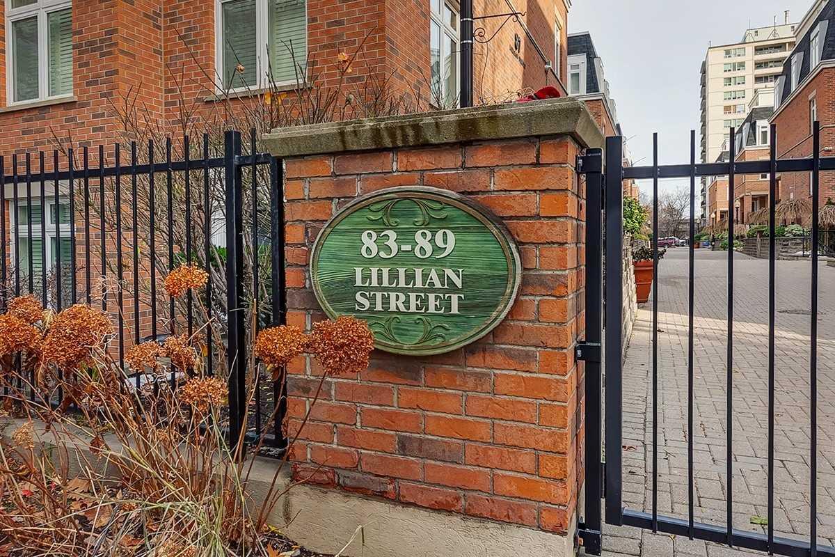 Buliding: 83 Lillian Street, Toronto, ON