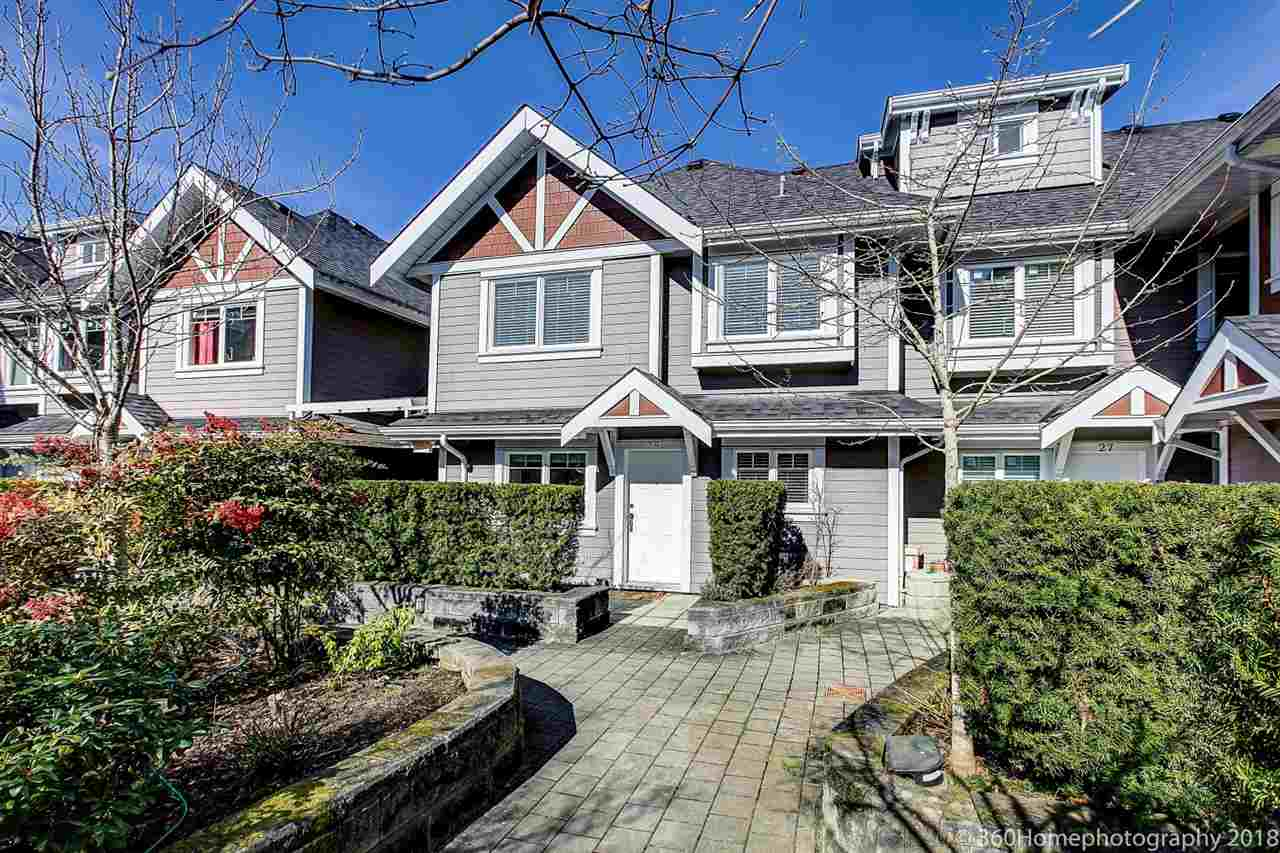 For Sale: 28 - 8400 Cook Road, Richmond, BC | 3 Bed, 3 Bath Townhouse for $918,000. See 19 photos!