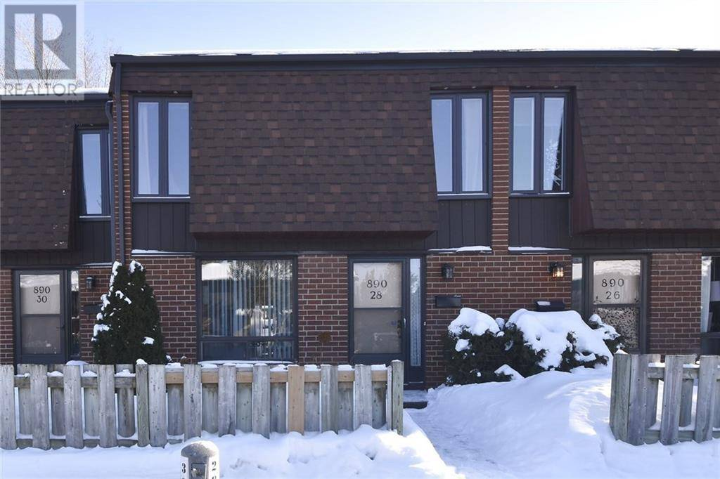 Townhouse for sale at 890 Cahill Dr W Unit 28 Ottawa Ontario - MLS: 1182741