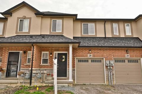 Townhouse for sale at 9 Hampton Brook Wy Unit #28 Hamilton Ontario - MLS: X4506541