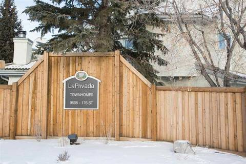 Townhouse for sale at 9505 176 St Nw Unit 28 Edmonton Alberta - MLS: E4140145