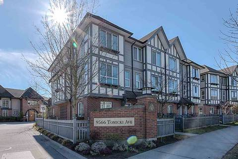 Townhouse for sale at 9566 Tomicki Ave Unit 28 Richmond British Columbia - MLS: R2353911