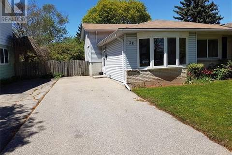 House for sale at 28 Balfour Cres Kitchener Ontario - MLS: 30749547