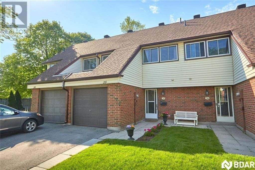 Townhouse for sale at 28 Donald St Barrie Ontario - MLS: 30811393