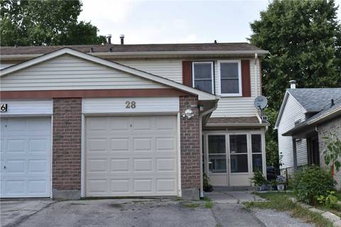 Townhouse for sale at 28 Grenbeck Dr Toronto Ontario - MLS: E4532977