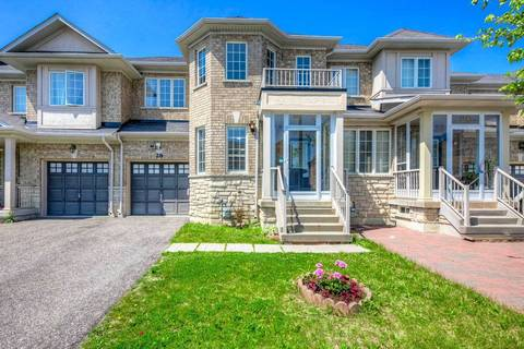 Townhouse for sale at 28 Hartmoor St Markham Ontario - MLS: N4496800