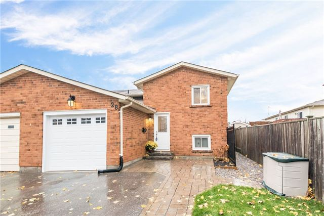 House for sale at 28 Hartsfield Drive Clarington Ontario - MLS: E4300209