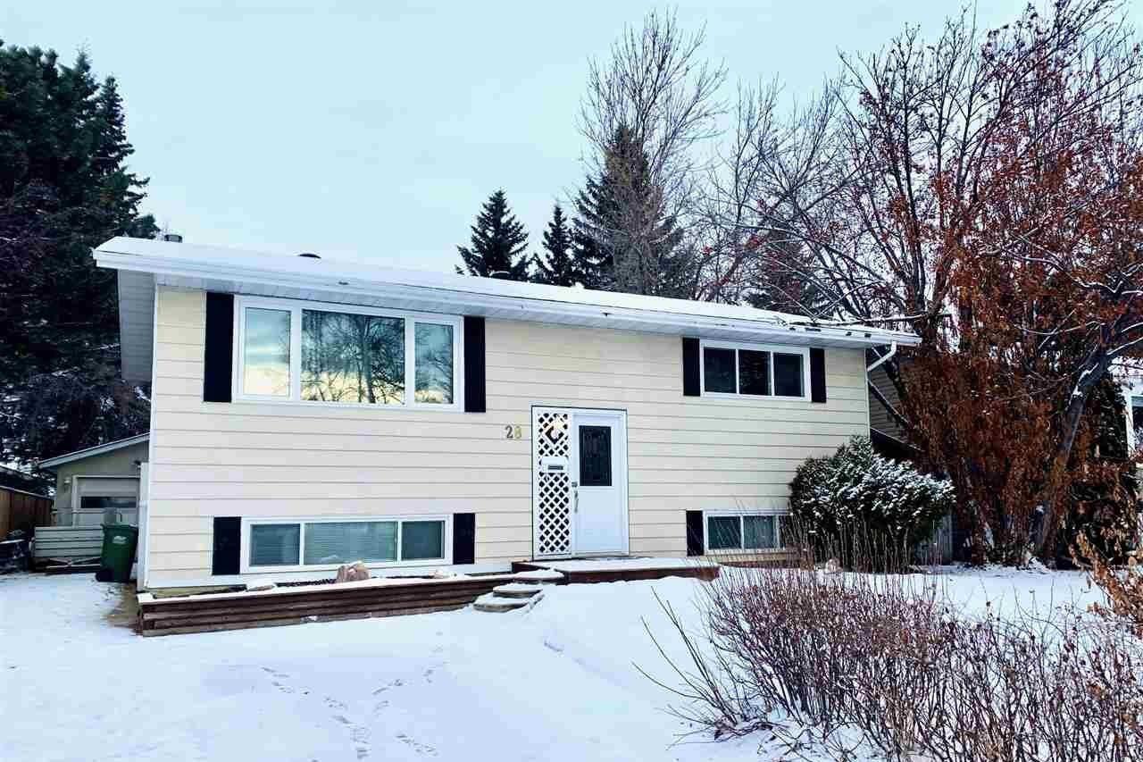 House for sale at 28 Lambert Cr St. Albert Alberta - MLS: E4223229