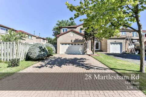 House for sale at 28 Martlesham Rd Markham Ontario - MLS: N4863004