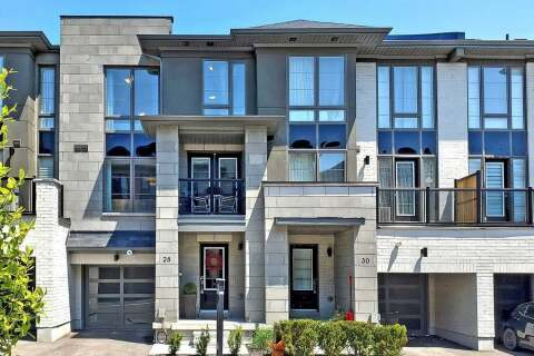 Townhouse for sale at 28 Pallock Hill Wy Whitby Ontario - MLS: E4770898