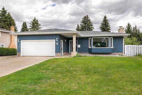 House for sale at 28 Quesnell Rd Nw Edmonton Alberta - MLS: E4156496