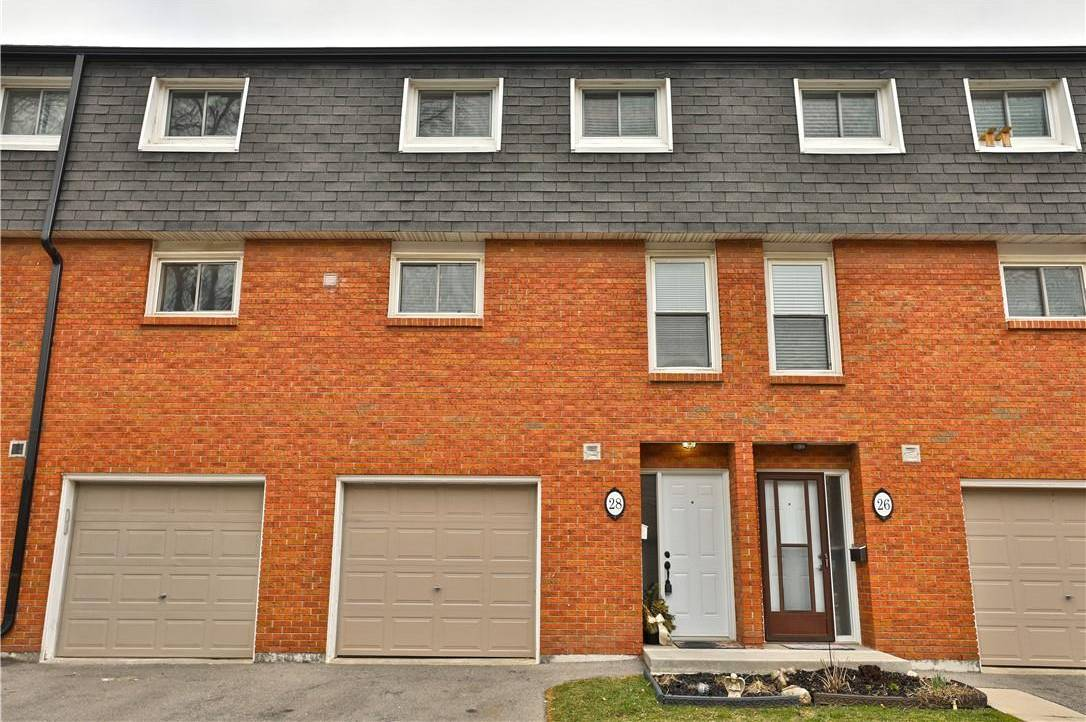 Townhouse for sale at 28 Rosedale Ct Stoney Creek Ontario - MLS: H4075607