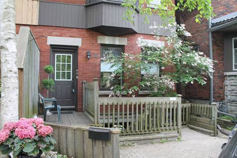 Townhouse for rent at 28 Spencer Ave Toronto Ontario - MLS: W4451633