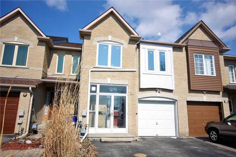 Townhouse for sale at 28 Sunway Sq Markham Ontario - MLS: N4390242