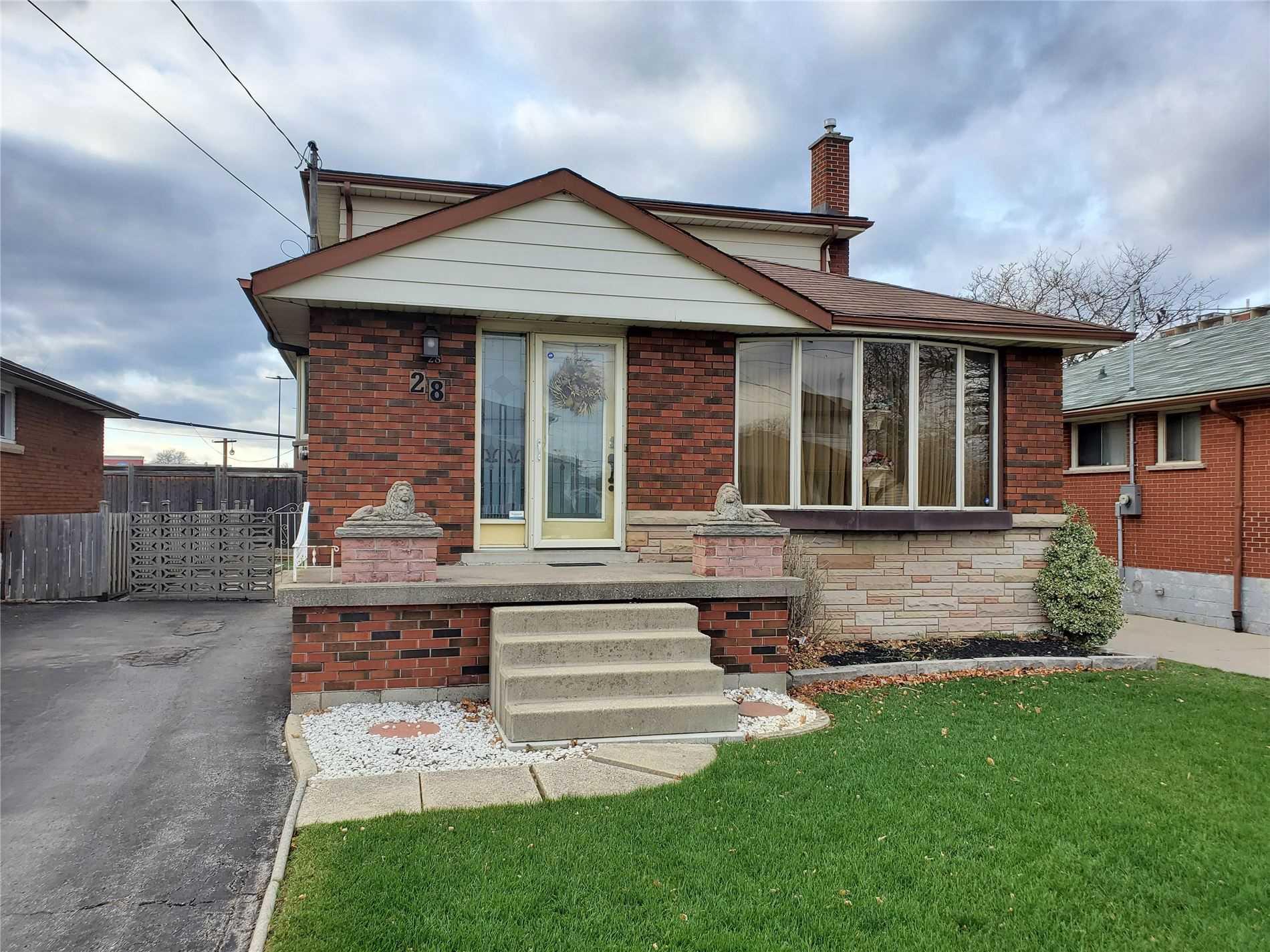 For Sale: 28 Terrace Drive, Hamilton, ON | 4 Bed, 2 Bath House for $574913.00. See 2 photos!