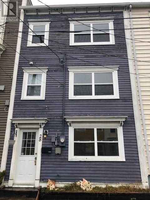 House for sale at 28 York St St. John's Newfoundland - MLS: 1208793