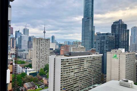 Apartment for rent at 85 Wood St Unit 2805 Toronto Ontario - MLS: C4491701