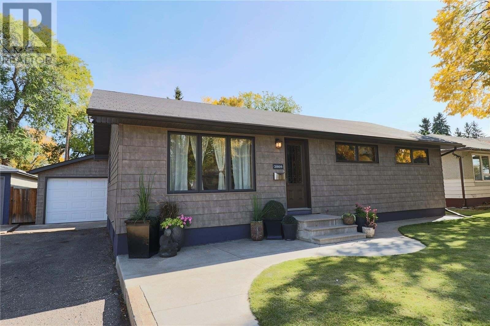 House for sale at 2805 Ferguson Ave Saskatoon Saskatchewan - MLS: SK827629