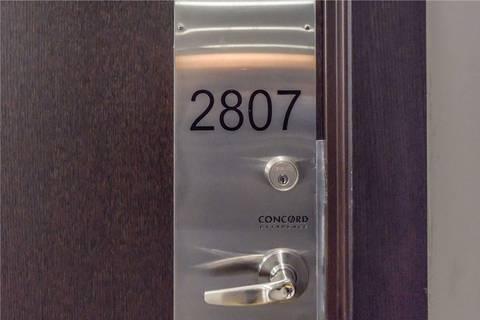 Apartment for rent at 25 Capreol Ct Unit 2807 Toronto Ontario - MLS: C4671673