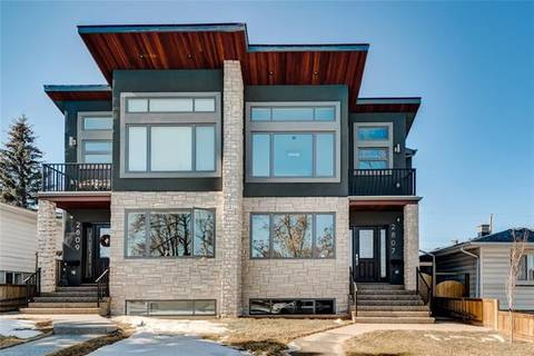 Townhouse for sale at 2807 35 St Southwest Calgary Alberta - MLS: C4235289