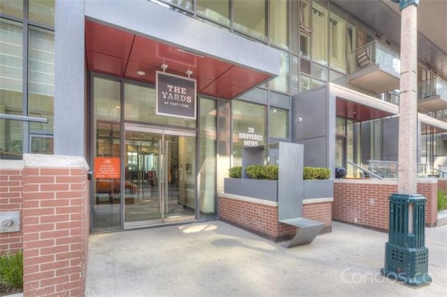 For Sale: 2808 - 20 Bruyers Mews, Toronto, ON | 1 Bed, 1 Bath Condo for $620,000. See 6 photos!