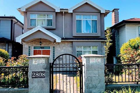 House for sale at 2808 Broadway  E Vancouver British Columbia - MLS: R2451790