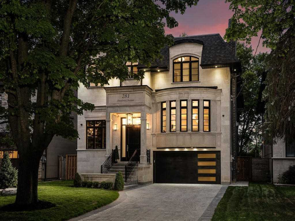 For Sale: 281 Dunforest Avenue, Toronto, ON   4 Bed, 7 Bath House for $3488000.00. See 8 photos!