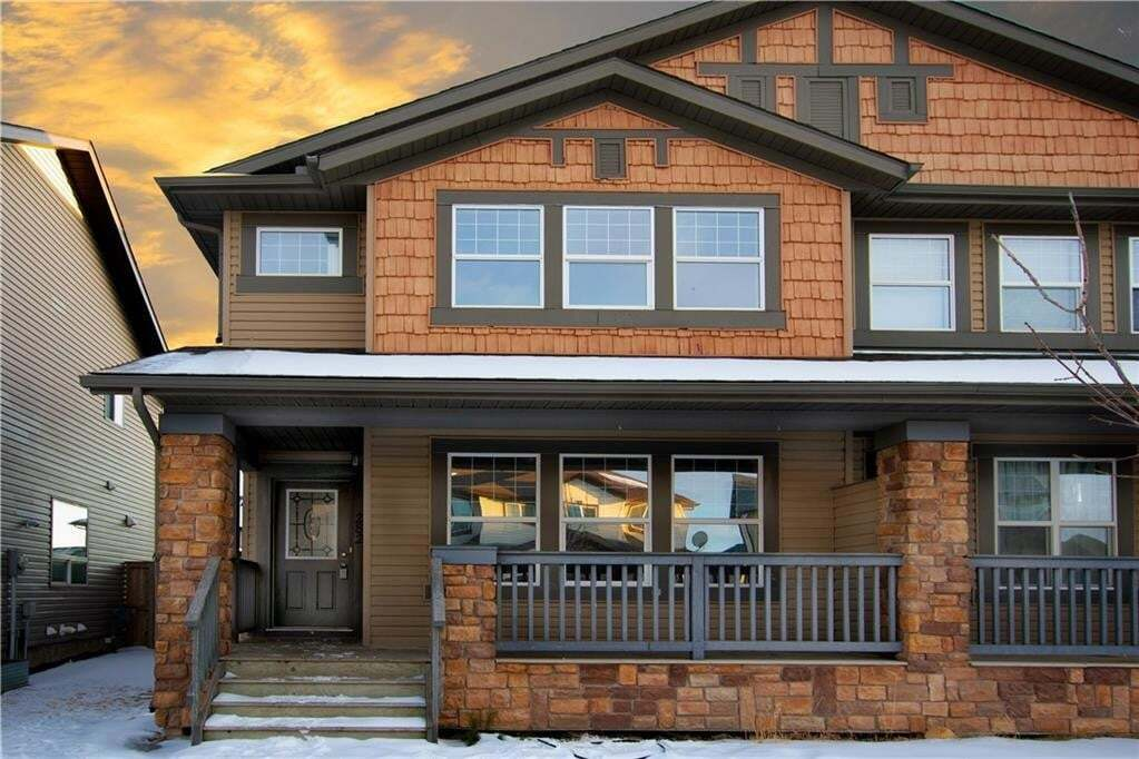Townhouse for sale at 282 Luxstone Wy SW Luxstone, Airdrie Alberta - MLS: C4289663