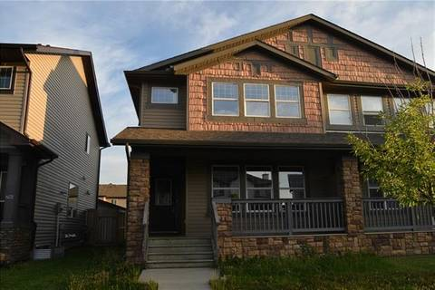 Townhouse for sale at 282 Luxstone Wy Southwest Airdrie Alberta - MLS: C4265041