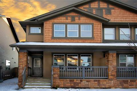 Townhouse for sale at 282 Luxstone Wy Southwest Airdrie Alberta - MLS: C4289663