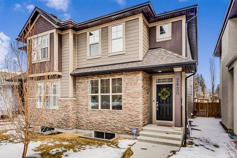 Townhouse for sale at 2820 25a St Southwest Calgary Alberta - MLS: C4292215