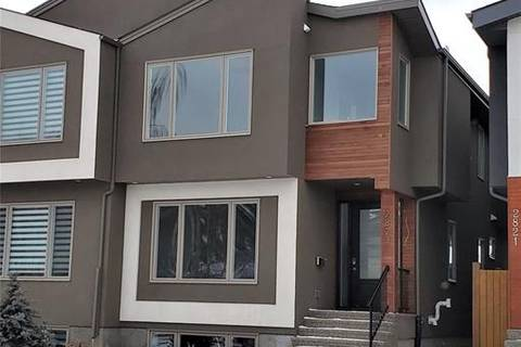 Townhouse for sale at 2823 25a St Southwest Calgary Alberta - MLS: C4292344