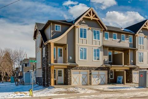 Townhouse for sale at 2824 1 St Northwest Calgary Alberta - MLS: C4289872