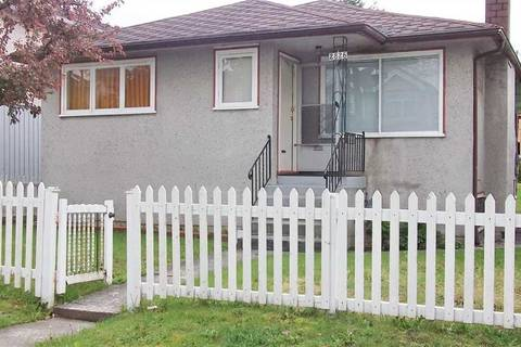 House for sale at 2826 Cheyenne Ave Vancouver British Columbia - MLS: R2419529