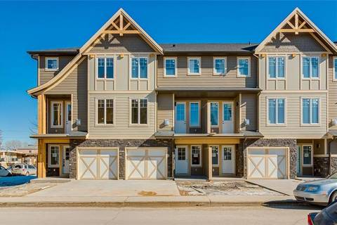 Townhouse for sale at 2828 1 St Northwest Calgary Alberta - MLS: C4290804
