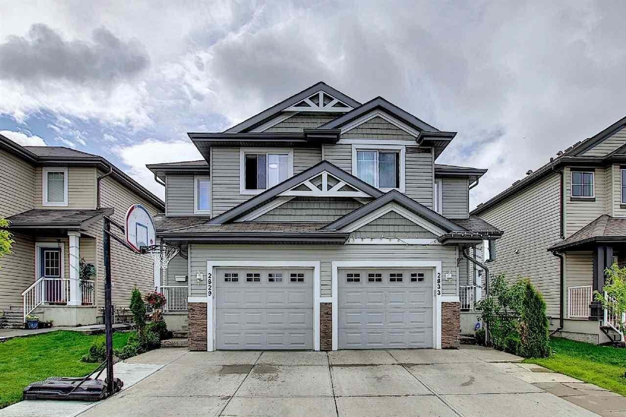 Townhouse for sale at 2829 18a Av NW Edmonton Alberta - MLS: E4204919