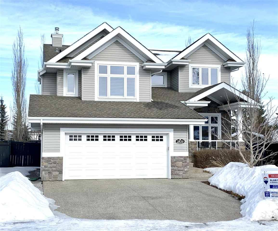House for sale at 2829 Terwillegar Wd Nw Edmonton Alberta - MLS: E4193843
