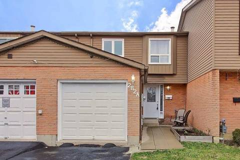 Townhouse for sale at 282 Royal Salisbury Wy Brampton Ontario - MLS: W4735850