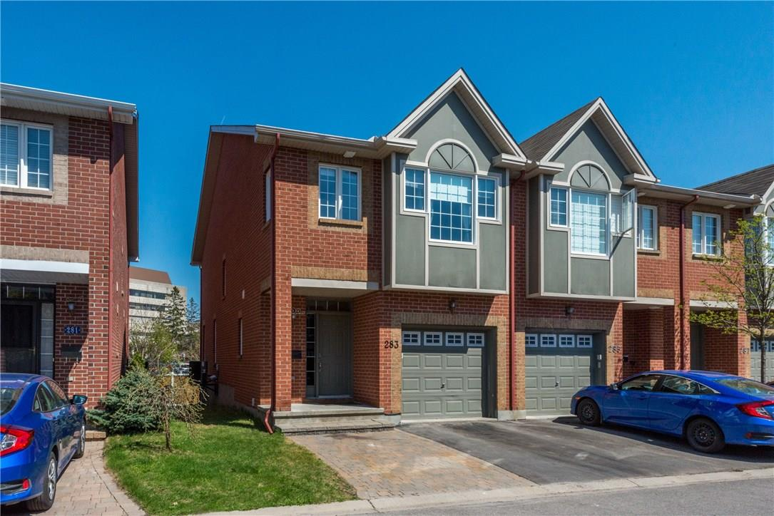 For Sale: 283 Freedom Private, Ottawa, ON | 3 Bed, 4 Bath Townhouse for $499,900. See 28 photos!