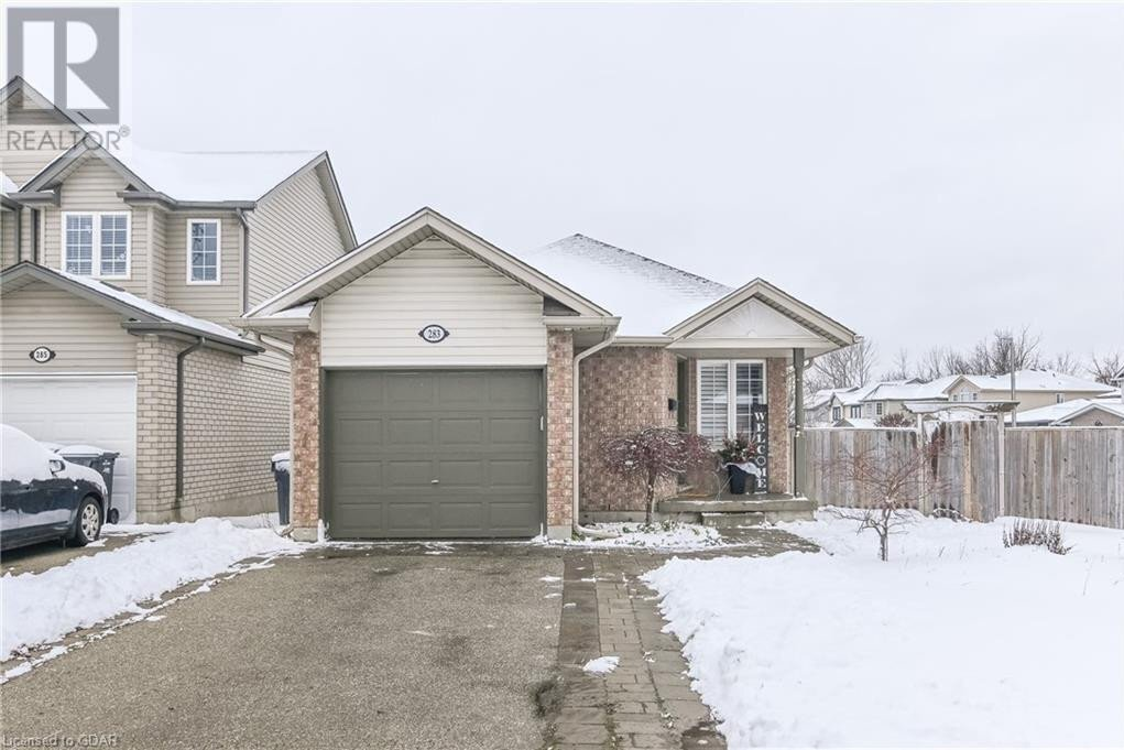 House for sale at 283 Grange Rd Guelph Ontario - MLS: 40048670