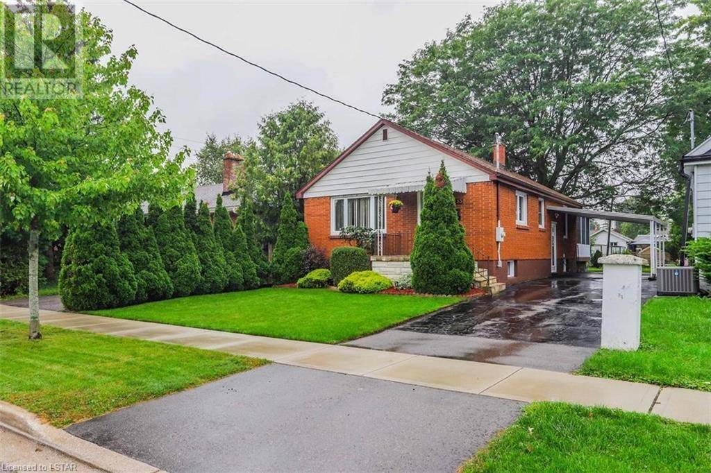 House for sale at 283 Vancouver St London Ontario - MLS: 222077