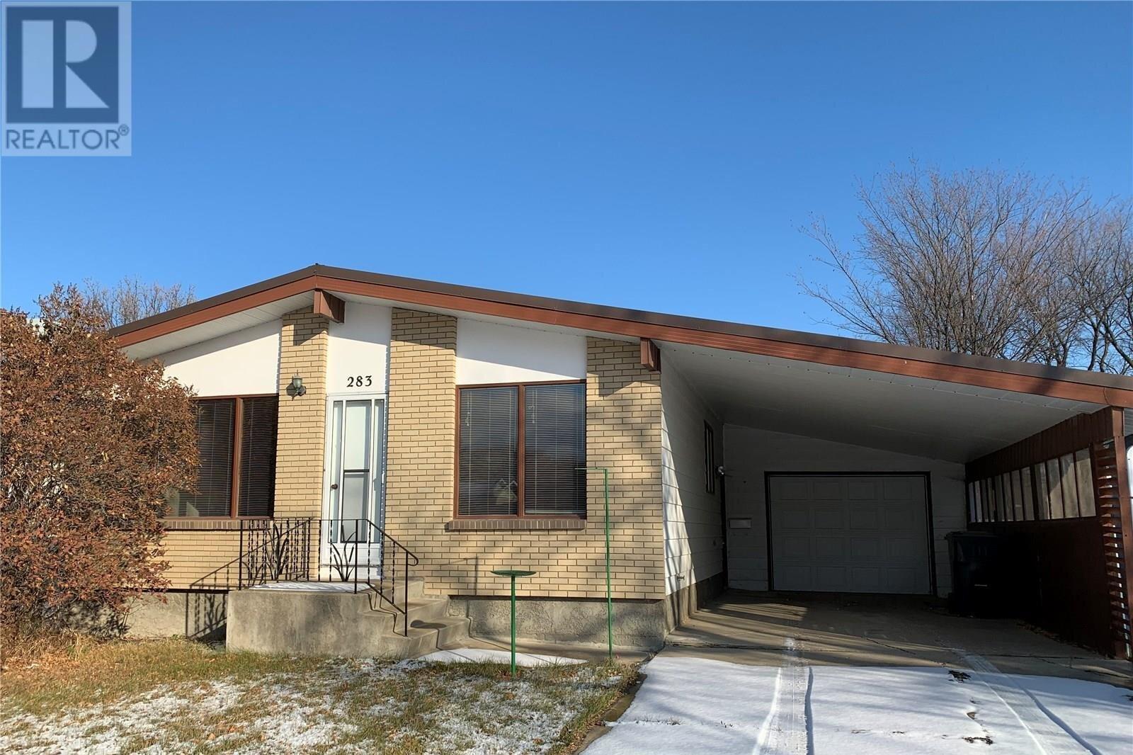 House for sale at 283 Wellington Ave N Yorkton Saskatchewan - MLS: SK821046