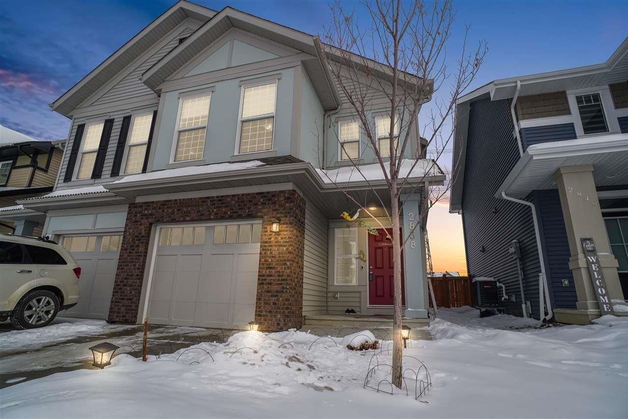 Townhouse for sale at 2838 Coughlan Gr SW Edmonton Alberta - MLS: E4221978