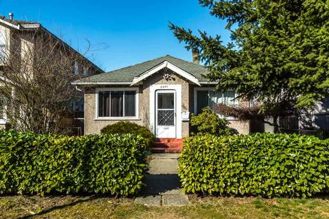 House for sale at 2841 14th Ave E Vancouver British Columbia - MLS: R2446510