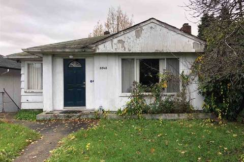 House for sale at 2848 Broadway Ave E Vancouver British Columbia - MLS: R2325366